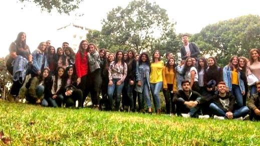 حنا مويس الثانوية- الرامة بزيارة لجامعة تل ابيب