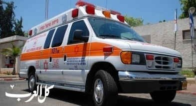 إصابة عامل إثر سقوطه عن إرتفاع مبنى