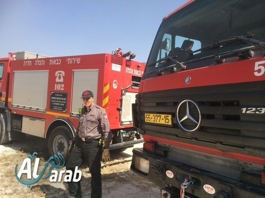 طوبا الزنغرية: اندلاع النيران داخل حافلة سياحية