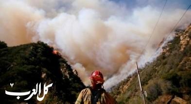 ارتفاع حصيلة قتلى حريق كاليفورنيا إلى 42 شخصا