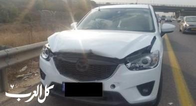 إصابة شخصين في حادث طرق على مفرق عيرون