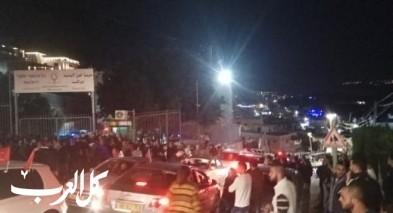 دير الاسد: مناوشات بين مواطنين في احد الصناديق