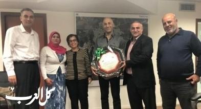 لجنة موظفي مجلس اكسال تكرّم دراوشة