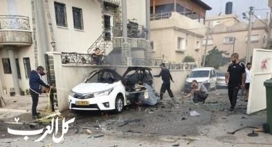 إصابة شاب جراء انفجار سيارة في كفرقاسم