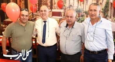 ادارة بنك هبوعليم تلتقي مع رجال اعمال في باقة
