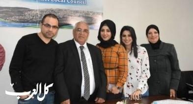 تكريم رئيس مجلس عين ماهل وليد أبو ليل