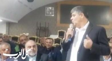 أم الفحم: حمدان يهنئ رئيس البلدية الجديد