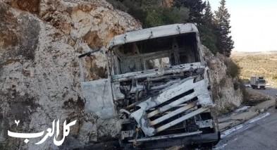 احتراق شاحنة شمالي دير الاسد دون اصابات