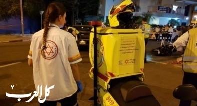 النقب: إصابتان إحداهما خطيرة في إنقلاب جيب