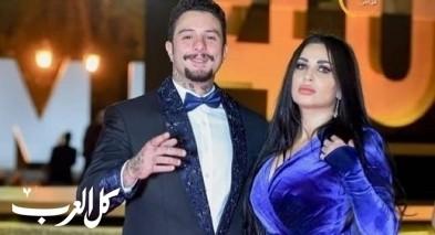 أحمد الفيشاوي بلقطات رومانسية مع زوجته