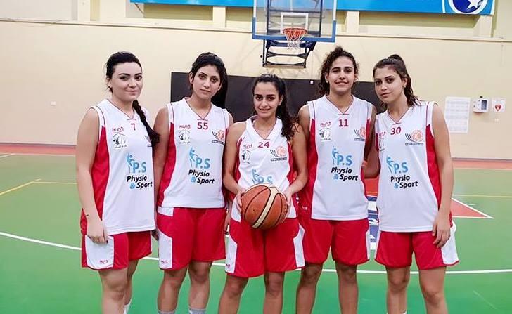 الفوز الخامس لفتيات مجد الكروم بكرة السلة