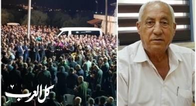 جديدة المكر: الالاف يشيعون جثمان محمد شامي