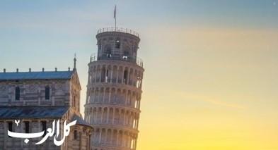 إليكم حلّ لغز برج بيزا المائل!