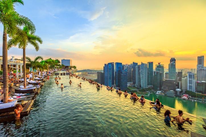 الطبيعة الخلابة في سنغافورة