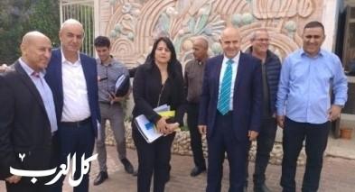 المدير العام للوزارة شموئيل ابواب يزور قرية العرامشة