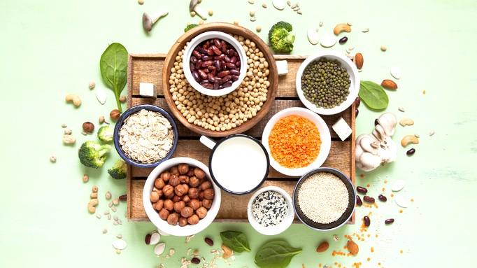 أطعمة صحية غنية بالبروتينات