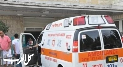 إصابة شاب (22 عامًا) بحادث في بيتح تكفا