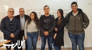 اورط الشافعي عكا تنتخب رئيس مجلس الطلاب