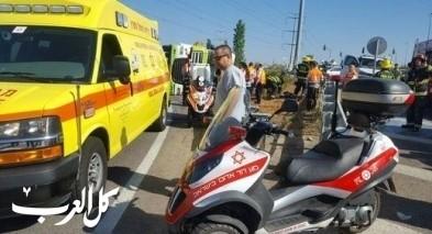 إصابات جرّاء حادث طرق قرب مفرق أليكيم