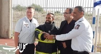 افتتاح نقطة إطفاء في برطعة بحفل خاص