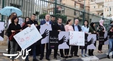 طرعان: وقفة احتجاجية على قتل النساء