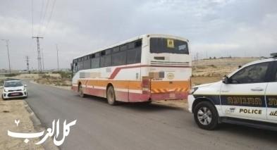 حورة: سحب رخصة سائق بعد ضبطه يقل 93 طالبا