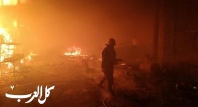 حورة: اندلاع النيران بكراج دون اصابات
