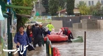سلطة الاطفاء والانقاذ تحذّر من السيول والفيضانات