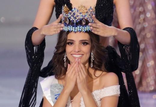 حسناء مكسيكيَّة تتوج بلقب ملكة جمال العالم