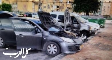 اندلاع حريق داخل سيارة في عكا