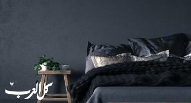 غرف نوم رائعة يطغى عليها اللون الأسود!