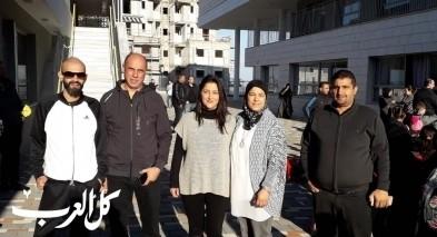 الناصرة: انتقال طلاب مدرسة مي زيادة لمدرسة خالد