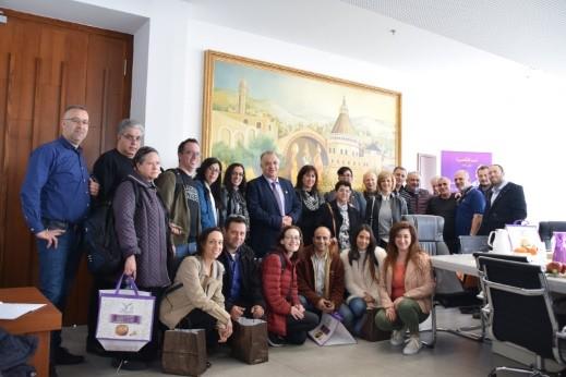 ممثلي مفعال هبايس يلتقون رئيس بلدية الناصرة