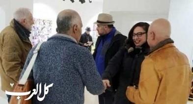 معرض للفنان المكراوي ابراهيم نوباني في رام الله