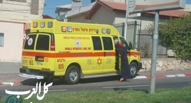 مجدل شمس: إصابة شاب جراء تعرضه للدهس