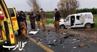 مصرع رجل جرّاء حادث طرق في النقب