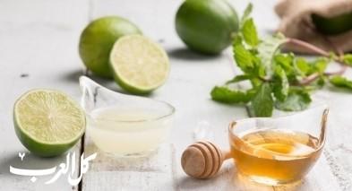 الليمون الأخضر والعسل لخسارة الوزن