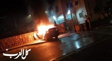 فيديو: ملثمون يحرقون سيارة في المقيبلة