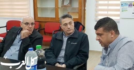 رئيس بلدية كرمئيل يزور مجلس مجد الكروم