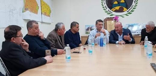 رئيس بلدية كرمئيل يزور مجلس دير الاسد
