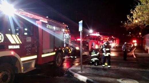 نتسيرت عيليت: اندلاع حريق بشقة سكنية دون اصابات