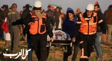 غزّة: 15 إصابة بالرصاص الحي بمسيرات العودة