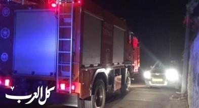 حريق في منزل في كريات شمونة واصابة رجل (60 عامًا)