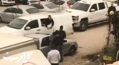 شجار في رهط: شرطي يطلق الرصاص!