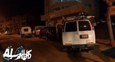 القاء عبوة ناسفة على مقر شرطة حرس الحدود في أبو ديس