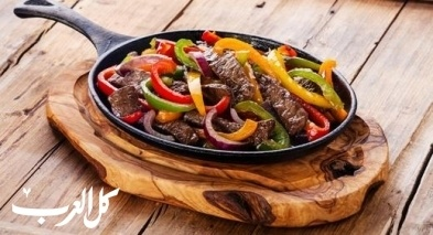 فاهيتا اللحم على طريقة مطبخ العرب.كوم