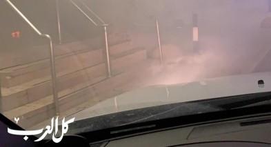 القاء قنابل خلال جلسة للمجلس المحلي في بلدة يركا
