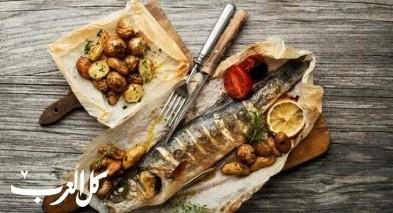 سمكة محشية بالبطاطا.. طبق لذيذ ومميز