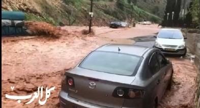 سخنين: اعلان حالة الطوارئ بعد انهيار البنية التحتية