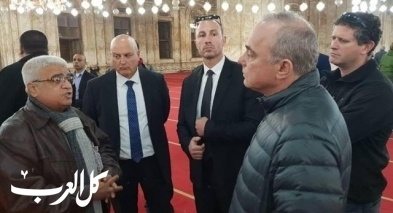 مسؤول إسرائيلي يزور مسجد محمد علي بمصر